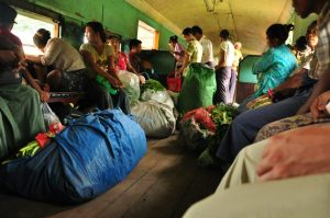 Railway in Yangon