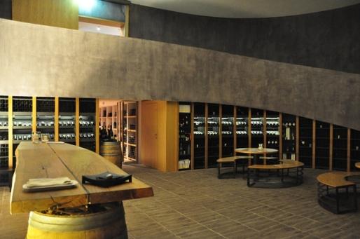 Wine Cellar in Castle Gredič