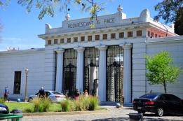 Entrance to La Recoleta Cemetery