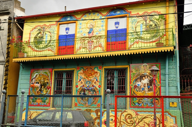 Slovenian house in La Boca