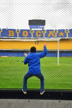 Hooligan at La Bombonera :)