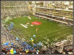 La Bombonera on a match day
