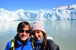 Us at Perito Moreno