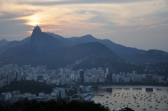 Sunset view from Urca Mountain