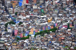 Colorful favela