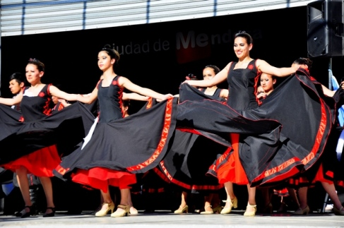 Dance show in Mendoza