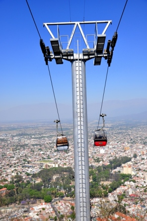 Cable car to San Benedeto
