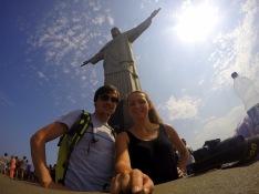 sLOVEnians with Cristo Redentor (Corcovado)