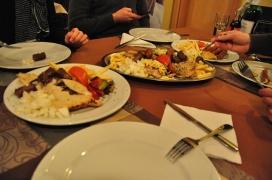 NY's dinner