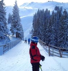 Ski bridge from Prača to Olympic slalom