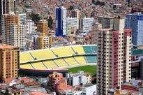 El Estadio Olímpico Hernando Siles