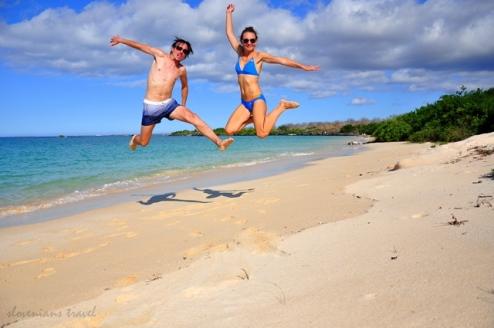 Beach life on Galapagos