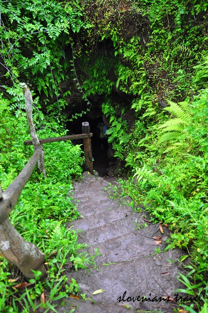 Entrance to Lava tunnels