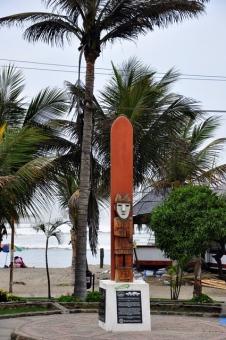 Surf monument