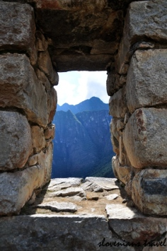Window at Machu Picchu