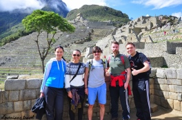 Slovenian gang at Machu Picchu