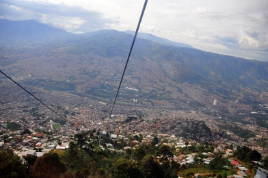 Medellin - view from the teleferico