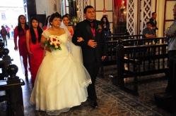 Lima - a lot of weddings on saturdays