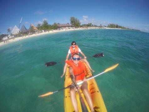 Kayaking at Grand Bahama