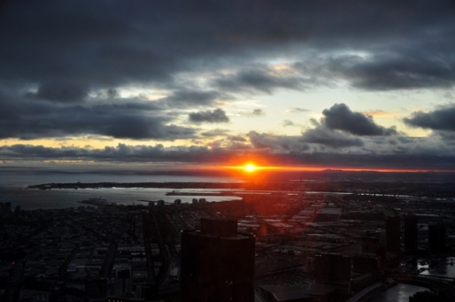 View from Eureka Skydeck 88