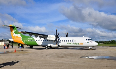 PrecisionAir (cheap flights from Daar es Salaam to Zanzibar)
