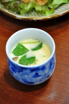 Pudding with Fugu´s fin