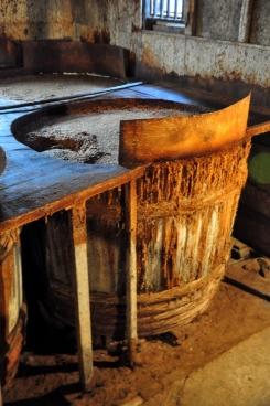 Soy sauce barrels