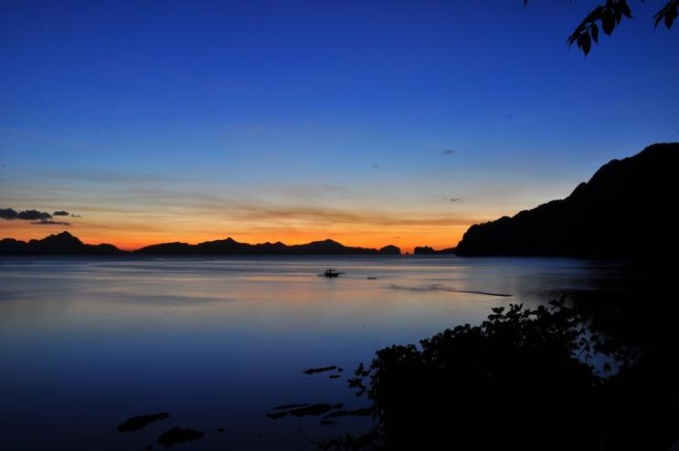 Sunset from Republica sunset bar