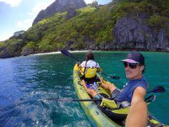 Our kayak trip in El Nido