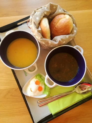 Pumpkin & Mushroom Soup