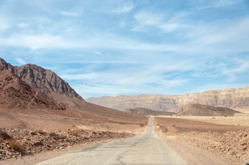 eilat roads