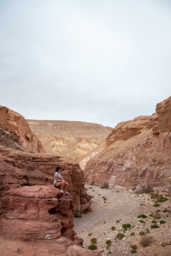 Eilat Red canyon