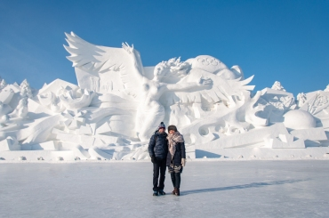 Snow festival Harbin