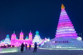 Ice festival Harbin