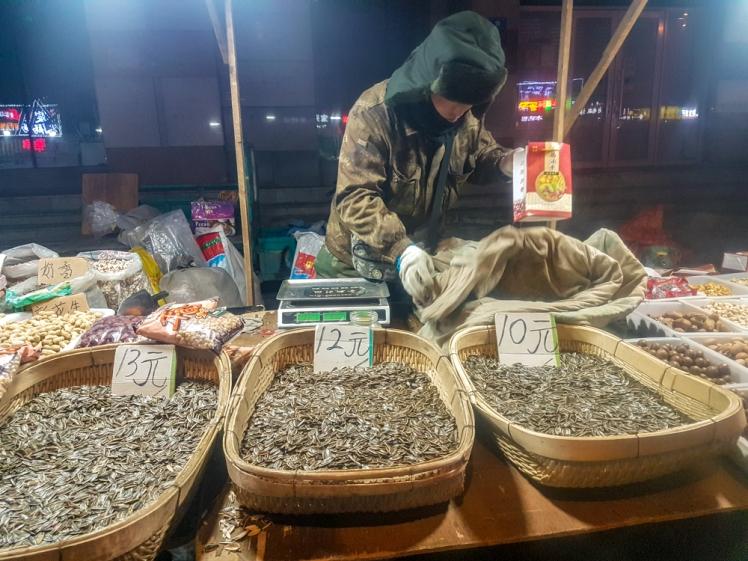 Harbin street seller
