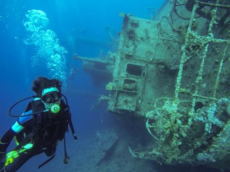 Aqaba diving - wreck dive