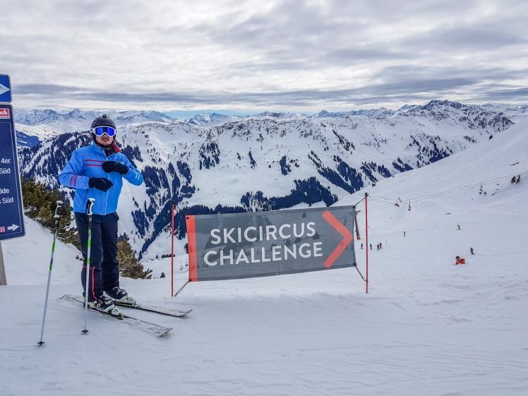 saalbach skicircus challenge
