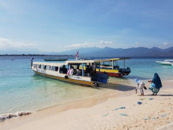 Ferry boat to Lombok